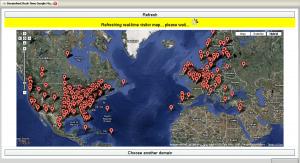 Hitmap screenshot