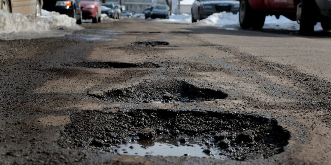 Smart scanning technology detects early signs of potholes