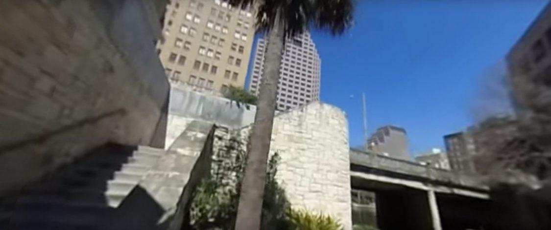 San Antonio Riverwalk—360 Video from a backpack