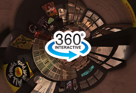 360 Photograph of Second Life
