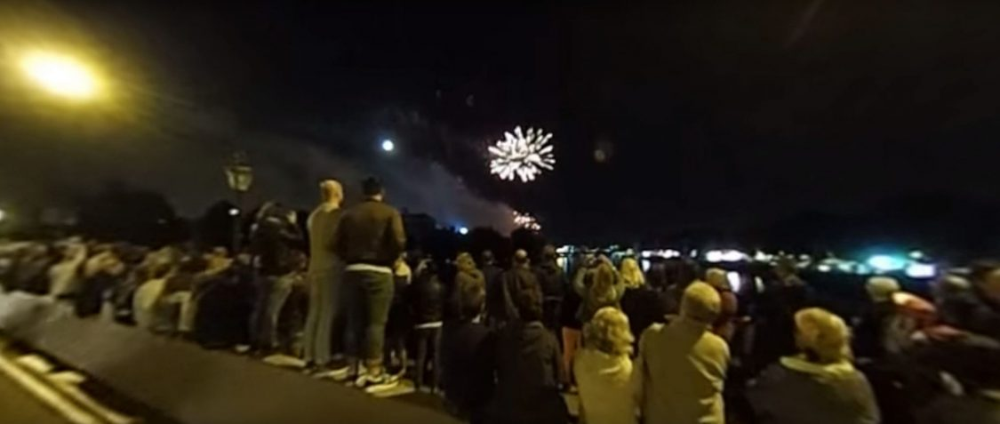 Riverside Festival Fireworks 2017 — VR 360 Video