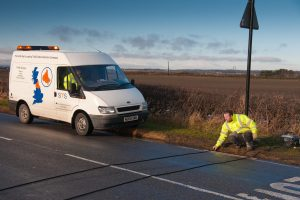 Pressure-sensitive Traffic Data Collection System (from www.surveymarketing.co.uk)