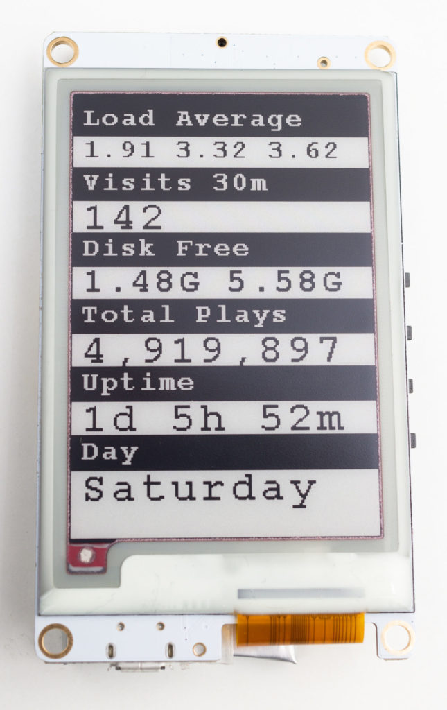 ESP32 E-Paper Display